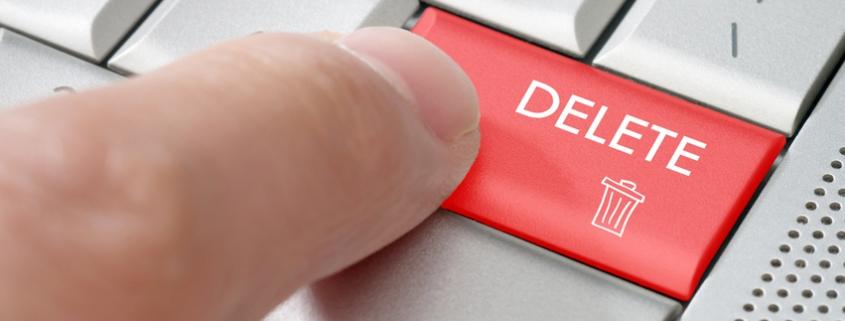 Delete Key doesn't REALLY delete data