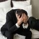 Stressed Upset Businessman