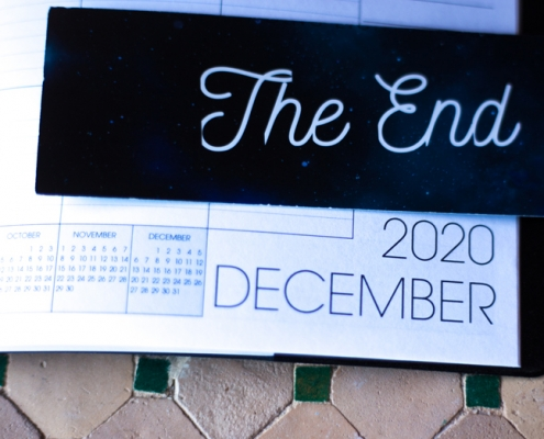 2020 Year End Calendar