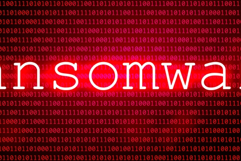 Red Ransomware Banner
