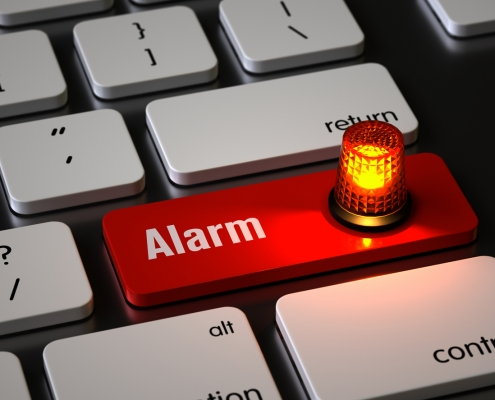 Cybersecurity Alarm
